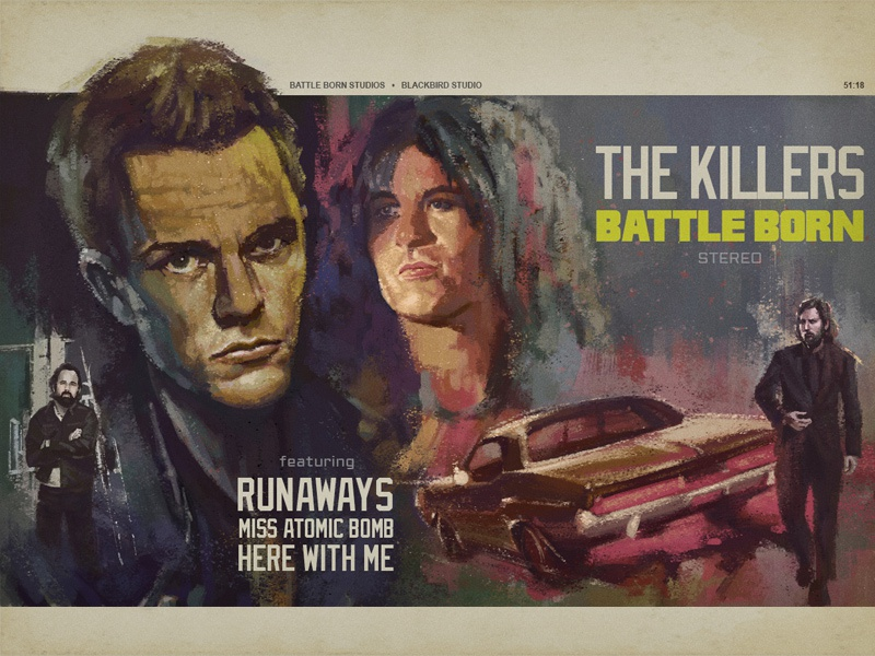 The Killers Battle Born illustration born battle the