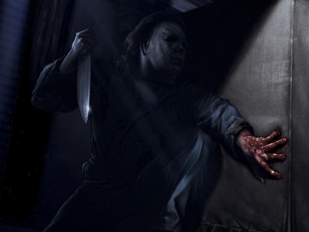 Halloween 2018 art of the day illustration jack gregory jack c. gregory poster film movie slasher horror michael myers halloween movie halloween