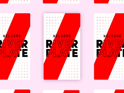 Sorare - River Plate - Logo Animation design illustration motion motion design animation typography 2d graphic design branding logo football club logo reveal motion graphics
