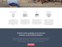 Responsive corporate website