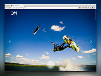 Responsive one page personal website