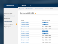 Benchmark tool (webapp)