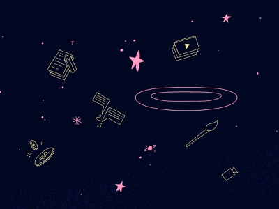Galactic icons! space illustration illustration icons icon design icons pack icons set creative mind class galaxy icons