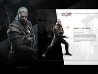 The Witcher 3 - Character Screens