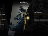 The Witcher 3 - Bestiary by Loris Stavrinides on Dribbble