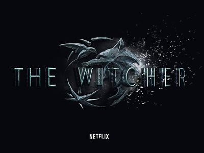 The Witcher: Netflix Interactive Experience full screen design ui ux series tv movie custom logo dark fantasy black web design experience interactive netflix witcher