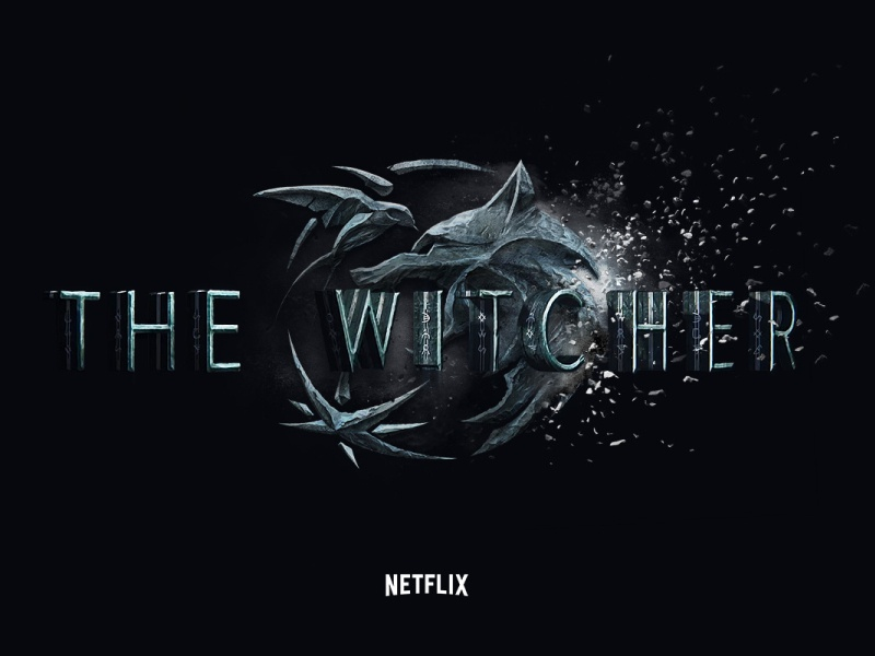The Witcher: Netflix Interactive Experience full screen design ui ux series tv movie custom logo dark fantasy black web design experience interactive netflix witcher