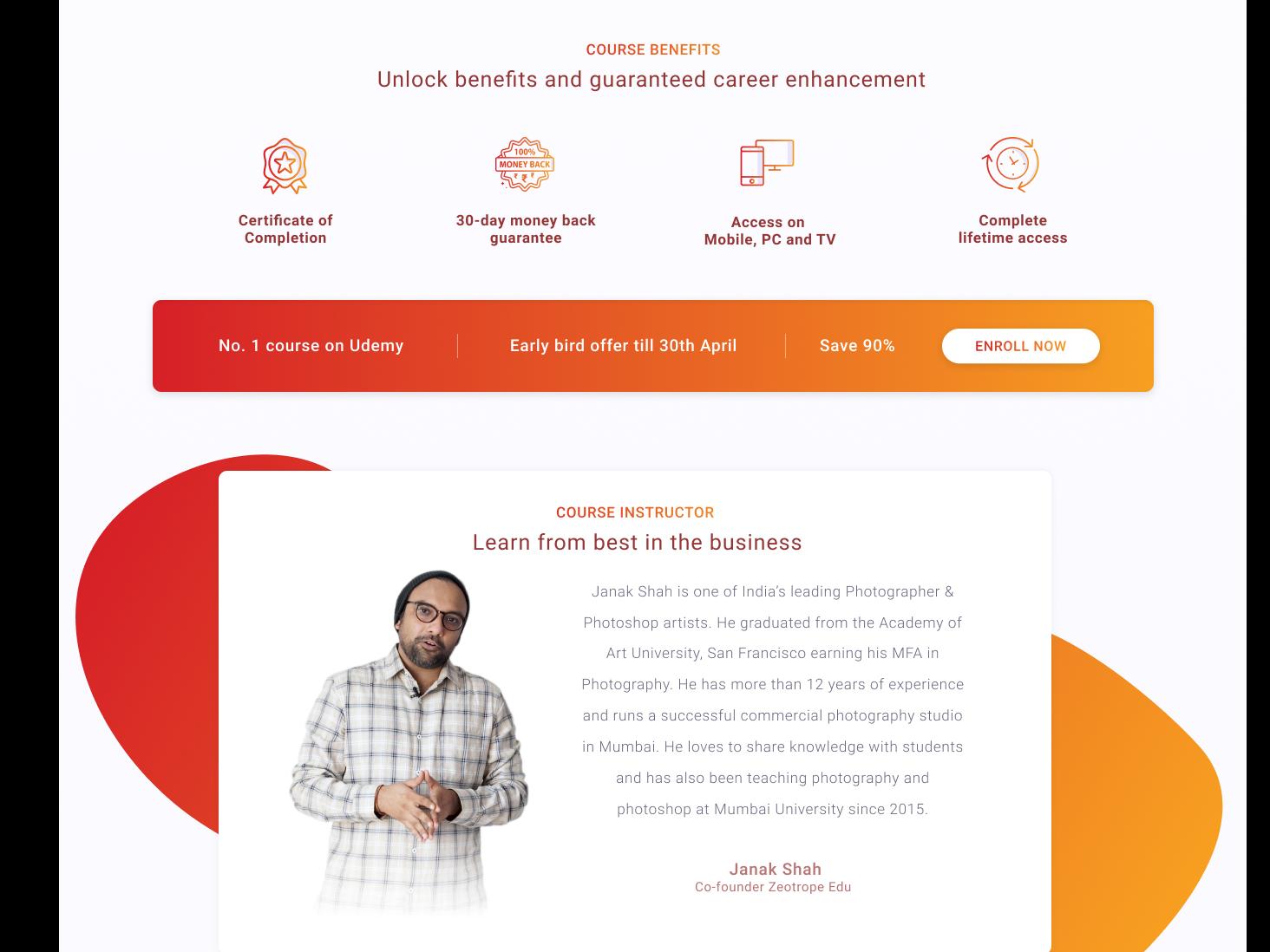 Subhe E-Learning Platform website branding vector illustration website concept ui ux web design