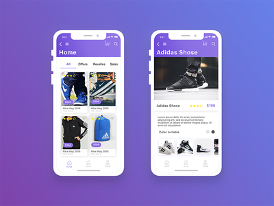 ِeCommerce App design shopping store iphone ios ecommerce