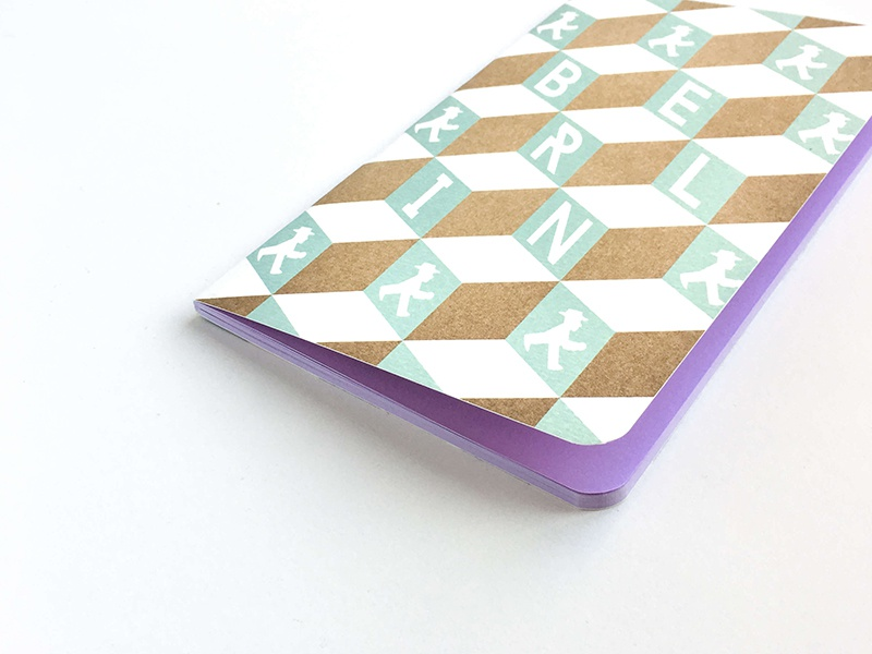 Notebooks labeling product design wording berlin geometric design cover design graphic design stationery notebook