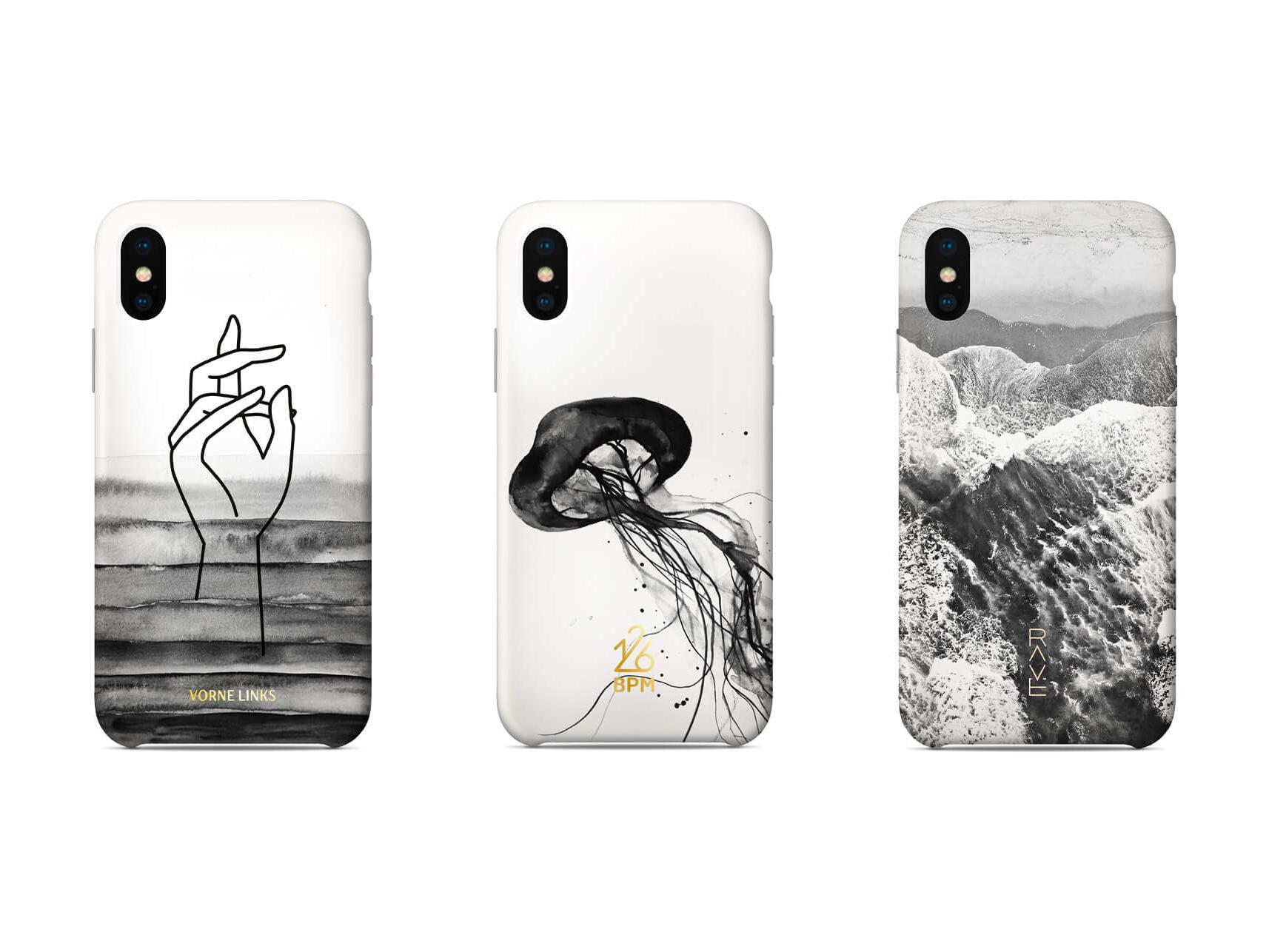 Alexandra linortner packaging phone cases design