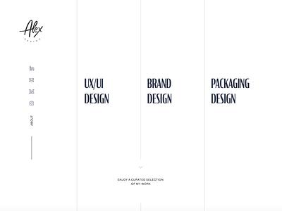 Portfolio Redesign Ideation portfolio website portfolio design uidesign ui
