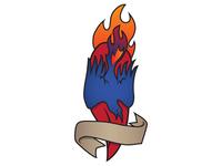 Downward Black Phoenix