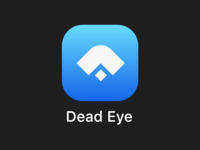 Dead Eye App Icon #dailyUi