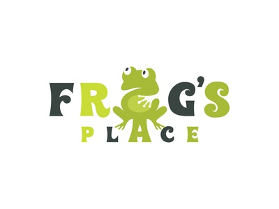 Children's fun - Frog's place