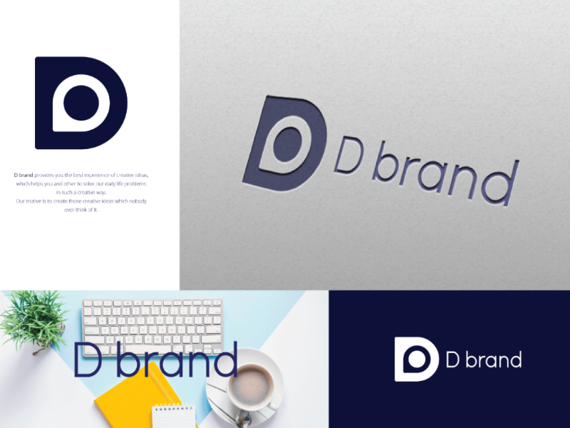 D brand by Prototype 1 on Dribbble