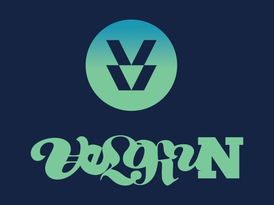 Velorun Sport Team logo design illustration typeface typography branding logo vector