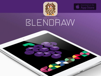 Blendraw ios game mobile app