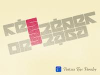 Atett typeface