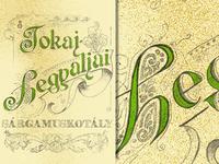 Tokaj Hegyaljai _wine label