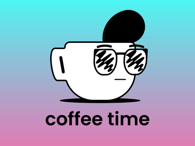 Coffee time illustration vector everyday