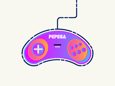 Controller rebound illustration vector everyday