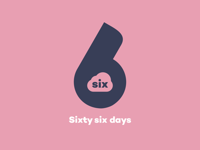 Sixty six days branding design logo vector everyday