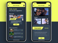 Games Manager App