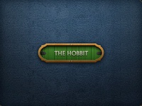 The Hobbit button