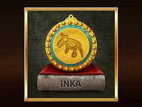 Inka gold medal
