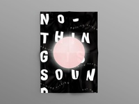 No–Thing is Sound. Poster