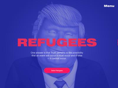 Trump-based Game Screen