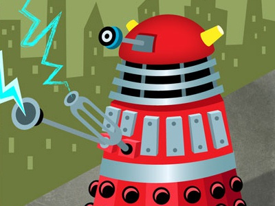 The Monsters of Doctor Who joe rocco illustration doctor who digital science fiction kids children fantasy
