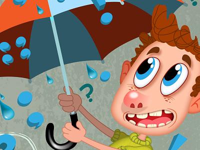 Spots for Scholastic Scope joe rocco illustration childrens publishing whimsical humor digital