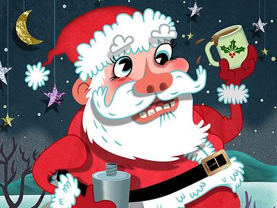 Secret Sauce Studio Christmas 2014 joe rocco illustration childrens books humor whimsical graphic design character design editorial