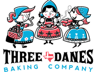 Three Danes Baking Company Logo (Final Set)