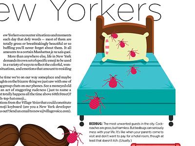 30 Useful Emoji For New Yorkers joe rocco design emoji humor illustration the village voice