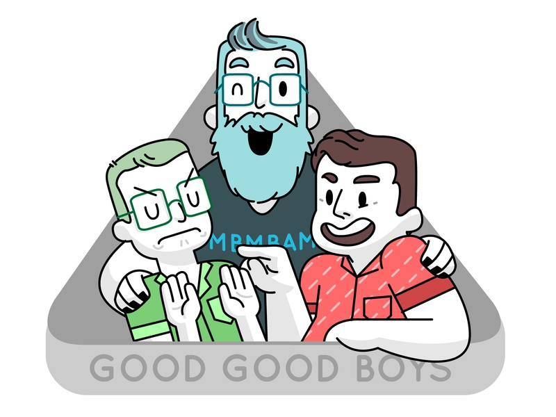 MBMBAM vector illustration