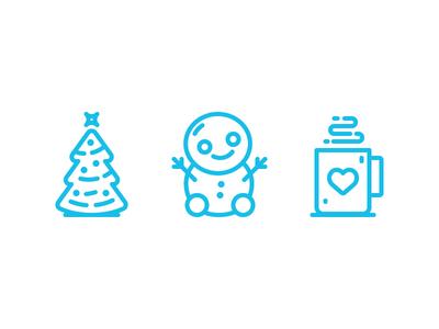 Christmas Icon Set Pt. 2