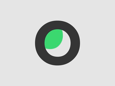 O Leaf Logo Concept