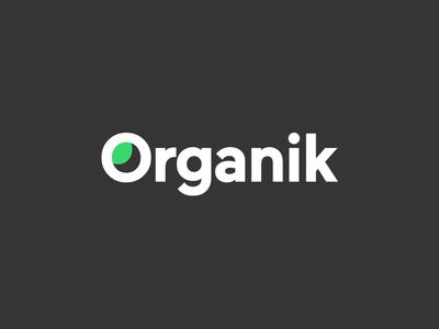 Logo Concept o mark o organic concept logo leaf