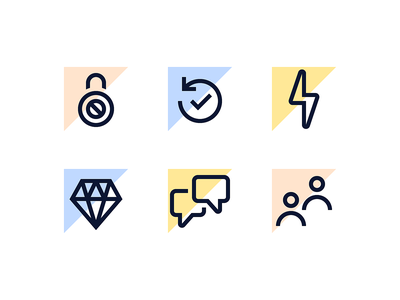 Line Icons tech science and technology chat speed history security startup science line icons icons