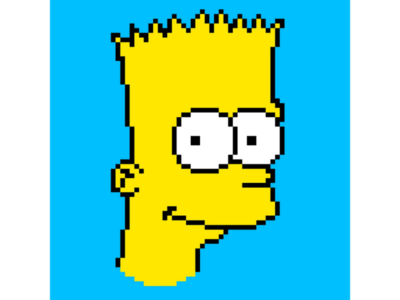 Do the Bartman! pixel studio the simpsons pixel art illustration yellow nostalgia samsung-galaxy samsung note-9 android digital-art digital 90s cartoon 8-bit art pixel bart-simpson simpsons bart