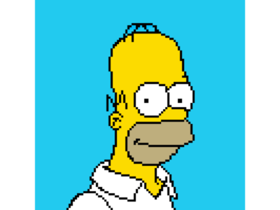 D'oh! drawing design pixel studio yellow samsung-galaxy samsung note-9 nostalgia cartoon android 90s 8-bit digital art digital art pixel art pixel homer simpson simpson homer
