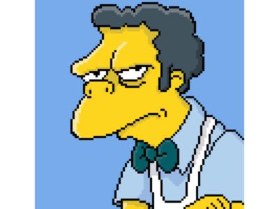 """""""I'm better than dirt."""" - Moe Szyslak pixel studio design illustration yellow the simpsons samsung-galaxy samsung pixel art pixel note-9 nostalgia digital-art digital art digital cartoon art android 8-bit szyslak moe szyslak"""