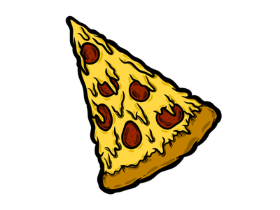 Anyone for pizza? colour art design illustration graphic design digital medibang slice pizza slice pizza