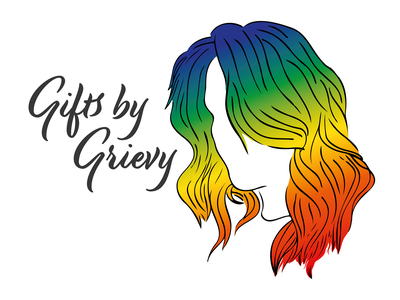Gifts By Grievy - Logo graphic design