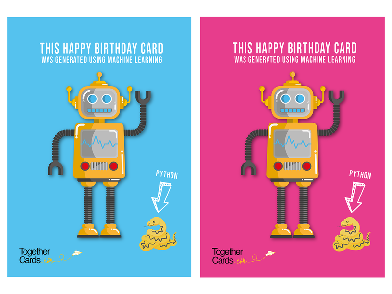RobotCards character robot bigleebrink leeoconnor-art lee oconnor art digital digital art digital drawing illustration graphic design graphic design adobe illustrator illustrator leaving card together cards leaving card