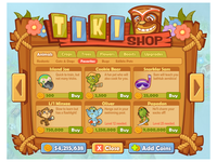 Tiki Shop!