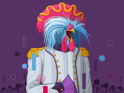 The Stockbreeder ecology character design animal illustration 2d